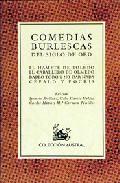 Portada de COMEDIAS BURLESCAS DEL SIGLO DE ORO