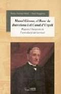 Portada de MANEL GIRONA, EL BANC DE BARCELONA I EL CANAL D UR: PAGESOS I BURGESOS EN L ARTICULACIO DEL TERRITORI