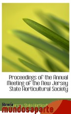 Portada de PROCEEDINGS OF THE ANNUAL MEETING OF THE NEW JERSEY STATE HORTICULTURAL SOCIETY