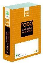 Portada de TODO SOCIEDADES MERCANTILES 2012