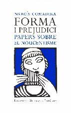 Portada de FORMA I PREJUDICI (EL NOUCENTISME) (EBOOK)