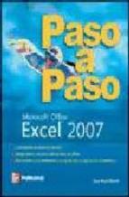 Portada de EXCEL 2007 PASO A PASO