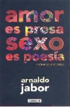 Portada de AMOR ES PROSA, SEXO ES POESÍA (EBOOK)