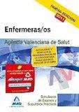 Portada de ENFERMERAS/OS  DE LA AGENCIA VALENCIANA DE SALUD. SIMULA CROS DE EXAMEN Y SUPUESTOS PRACTICOS