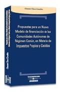 Portada de PROPUETAS PARA EL NUEVO MODELO DE FINANCIACION COMUN