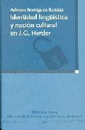 Portada de IDENTIDAD LINGÜISTICA Y NACION CULTURAL EN J. G. HERDER