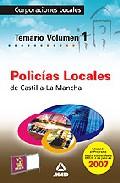 Portada de POLICIAS LOCALES DE CASTILLA LA MANCHA: TEMARIO