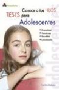Portada de CONOCE A TUS HIJOS: TESTS PARA ADOLESCENTES