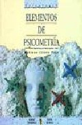 Portada de ELEMENTOS DE PSICOMETRIA