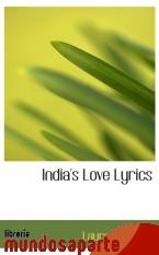 Portada de INDIA`S LOVE LYRICS