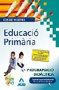 Portada de COS DE MESTRES: EDUCACIO PRIMARIA: PROGRAMACIO DIDACTICA