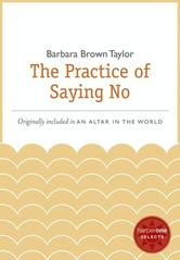 Portada de THE PRACTICE OF SAYING NO