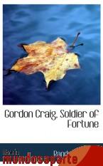 Portada de GORDON CRAIG, SOLDIER OF FORTUNE