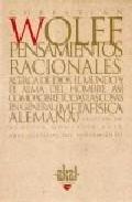 Portada de PENSAMIENTOS RACIONALES ACERCA DE DIOS, EL MUNDO Y EL ALMA DEL HOMBRE ASI COMO SOBRE TODAS LAS COSA EN GENERAL