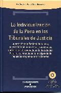 Portada de INDIVIDUALIZACION DE PENA EN TRIBUNALES DE JUSTICIA: