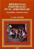 Portada de DIFERENCIAS INDIVIDUALES EN EL APRENDIZAJE: PERSONALIDAD Y RENDIMIENTO ESCOLAR