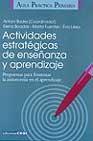 Portada de ACTIVIDADES ESTRATEGICAS DE ENSEÑANZA Y APRENDIZAJE