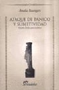 Portada de ATAQUE DE PANICO Y SUBJETIVIDAD: ESTUDIO CLINICO-PSICOANALITICO