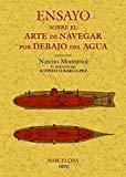 Portada de ENSAYO SOBRE EL ARTE DE NAVEGAR POR DEBAJO DEL AGUA (FACSIMILES MAXTOR)