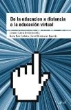 Portada de DE LA EDUCACION A DISTANCIA A LA EDUCACION VIRTUAL