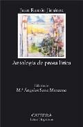 Portada de ANTOLOGIA DE PROSA LIRICA