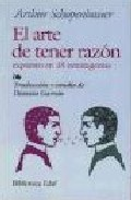 Portada de EL ARTE DE TENER RAZON