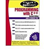 Portada de [SCHAUM'S OUTLINE OF PROGRAMMING WITH C++] [BY: JOHN R. HUBBARD]