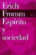 Portada de ESPIRITU Y SOCIEDAD