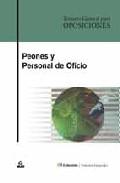 Portada de PEONES Y PERSONAL DE OFICIO: TEMARIO GENERAL PARA OPOSICIONES