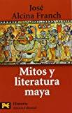 Portada de MITOS Y LITERATURA MAYA