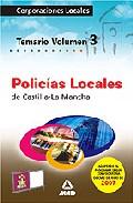 Portada de POLICIAS LOCALES DE CASTILLA-LA MANCHA VOL.III