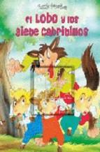 Portada de PUZZLE EL LOBO Y LOS SIETE CABRITILLOS