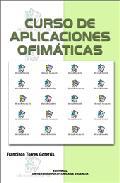 Portada de CURSO DE APLICACIONES OFIMATICAS
