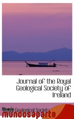 Portada de JOURNAL OF THE ROYAL GEOLOGICAL SOCIETY OF IRELAND