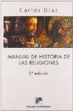 Portada de MANUAL DE HISTORIAS DE LAS RELIGIONES