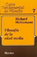 Portada de FILOSOFIA DE LA EDAD MEDIA