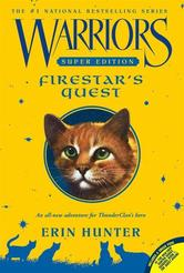 Portada de WARRIORS SUPER EDITION: FIRESTAR'S QUEST