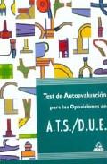 Portada de TEST AUTOEVALUACION ATS/DUE
