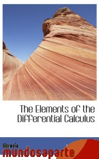 Portada de THE ELEMENTS OF THE DIFFERENTIAL CALCULUS
