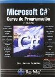 Portada de MICROSOFT C#: CURSO DE PROGRAMACION