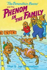 Portada de THE BERENSTAIN BEARS CHAPTER BOOK: THE PHENOM IN THE FAMILY