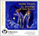 Portada de LE AVVENTURE DI TOM SAWYER. AUDIOLIBRO. CON CD AUDIO FORMATO MP3 (LETTERATURA STRANIERA)