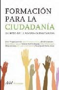 Portada de FORMACION PARA LA CIUDADANIA: UN RETO DE LA SOCIEDAD EDUCADORA