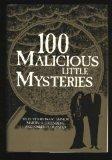 Portada de 100 MALICIOUS LITTLE MYSTERIES