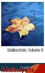 Portada de WALLENSTEIN, VOLUME II