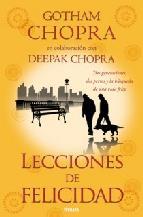 Portada de LECCIONES DE FELICIDAD (EBOOK)