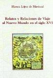 Portada de RELATOS Y RELACIONES DE VIAJE AL NUEVO MUNDO EN EL SIGLO XVI