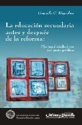 Portada de LA EDUCACION SECUNDARIA ANTES Y DESPUES DE LA REFORMA: EFECTOS DISTRIBUTIVOS DEL GASTO PUBLICO