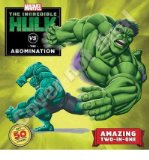 Portada de [( HULK VS. ABOMINATION/HULK VS. WOLVERINE: TWO-BOOKS-IN-ONE WITH OVER 50 STICKERS )] [BY: CLARISSA S WONG] [FEB-2013]