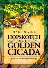 Portada de HOPSKOTCH AND THE GOLDEN CICADA